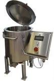 Kessel für das Kochen des Sirups und des Karamells Stockbilder