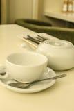 Kessel für eine Tasse Tee Lizenzfreies Stockbild