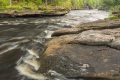 Kessel-Fluss szenisch Stockbilder