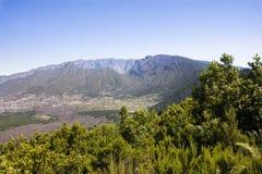 Kessel Taburiente im La Palma (Kanarische Inseln). lizenzfreie stockfotografie
