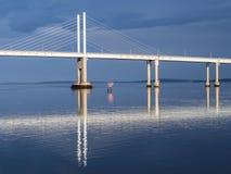 Kessock Road Bridge, Scotland Royalty Free Stock Images