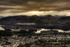Keswick Sunrise Royalty Free Stock Photo