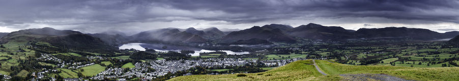 Keswick Sunrise Royalty Free Stock Photos