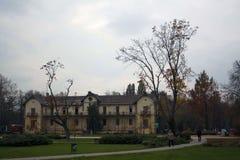 Keszthely l'ungheria Residenza per resto fotografia stock libera da diritti