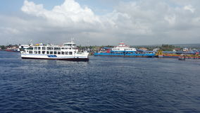 Ketapang port Royaltyfri Bild