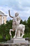 Ketavr-Skulptur auf der Brücke in Pavlovsk Lizenzfreie Stockfotos