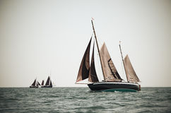 Ketch under sails Royalty Free Stock Photo