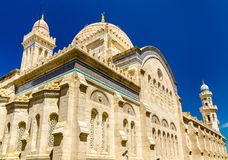 Ketchaoua Mosque in Casbah of Algiers, Algeria royalty free stock photo