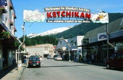 ketchikan的阿拉斯加 免版税库存照片