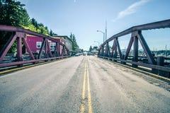 Ketchikan Alaska śródmieście północny usa miasteczko zdjęcia royalty free