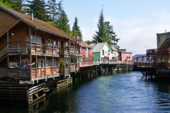 Ketchikan, Alaska Fotografia de Stock