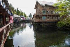 Ketchikan - Alaska Stockbilder