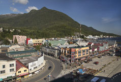 Ketchikan, Alaska royalty free stock images