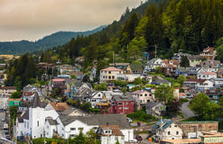 Ketchikan in Alaska Royalty Free Stock Photos
