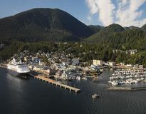 Ketchikan - Alaska - USA Arkivbild