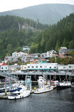 Ketchikan bay Stock Images