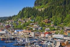 Ketchikan, dentro da passagem, Alaska fotos de stock