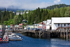 Ketchikan Harbor Royalty Free Stock Photography