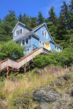 Ketchikan house Royalty Free Stock Photo