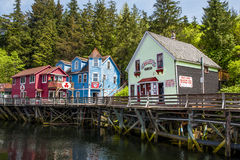 Ketchikan - l'Alaska Immagini Stock Libere da Diritti