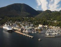 Ketchikan - l'Alaska - U.S.A. Fotografia Stock