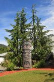 Ketchikan totem pole Stock Photography
