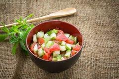 Ketchumbar, Indian food Stock Images