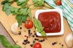 ketchup Fotografia Stock