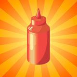 ketchup Foto de archivo libre de regalías