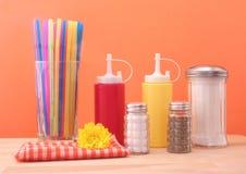 Ketchup And Mustard Stock Images