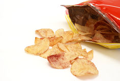 Ketchup Chips Stock Image
