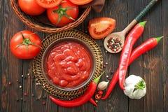 Ketchup image libre de droits