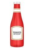 Ketchup de tomate Imagem de Stock Royalty Free