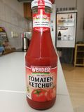 Ketchup di Werder Tomaten Fotografia Stock Libera da Diritti
