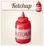 ketchup Icono detallado del vector Fotos de archivo libres de regalías