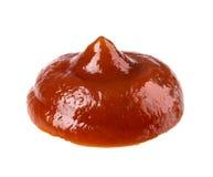 Ketchup, na białym tle zdjęcia stock
