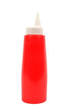 Ketchup squirt bottles isolated Stock Photography