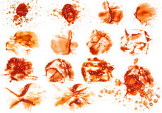 Ketchup stain 1 Stock Image