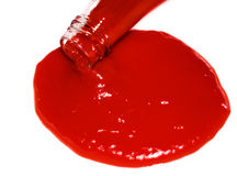 Ketchup, tomato sauce Royalty Free Stock Images