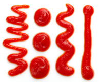 Ketchup or tomato sauce Stock Images