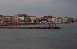 Keterini greece de Paralia Foto de Stock Royalty Free