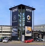 KETO Autocenter AG mądrze Centrum zurich Obrazy Stock