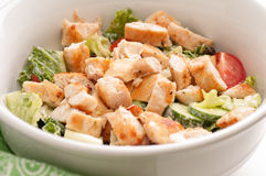 Keto diet chicken salad Royalty Free Stock Image