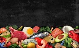 Keto Food Background stock photos