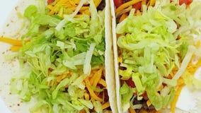 Keto Lage Hoge Carburator - vette Taco's stock videobeelden