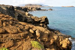 Kette der schroffen Küstenlinie Stockbilder