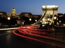Kettenbrücke Lizenzfreies Stockbild
