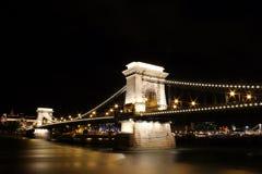 Kettenbrücke Stockfoto