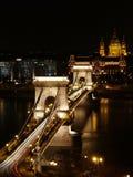 Kettenbrücke Stockfotos