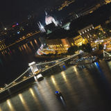 Kettenbrücke Budapest Lizenzfreies Stockbild